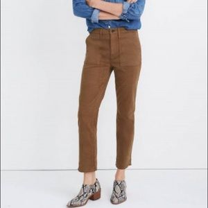Madewell Stovepipe Fatigue Pants: TENCEL Lyocell